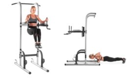 ProForm XR 10.9 Power Tower with Push-Up, Pull-Up & Dip Stations just $99 (Reg. $188.98)