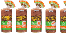Save $0.50 on Nature's Own Life Bread & Walmart Deal
