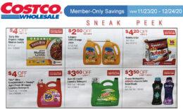 Costco Sneak Peek - Members Only Savings 11/23 - 12/24/20