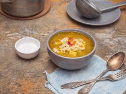 Turkey Soup with Dumplings Recipe