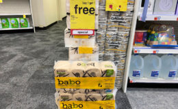 Babo Toilet Tissue 8 packs as Low as $2.00 at CVS! {Just $0.25 Per Roll}