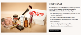 50% off Your First Allure Beauty Box {One Week Only}