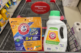Arm & Hammer Liquid Laundry Detergent and Power Paks Only $2.00 at CVS!