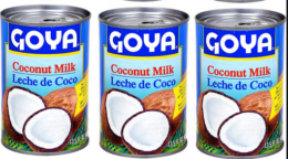 Goya Coconut Milk or Cream of Coconut only $1.24 at Stop & Shop