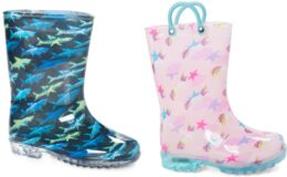 Kids' Rain Boots just $9.99 on Zulily!