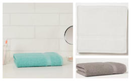 Select Room Essentials Towels - Buy 2 Get 1 Free at Target! $1.83 Bath Towels