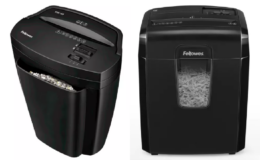 50% Off Fellowes Paper Shredders | Powershred 9C Cross-Cut Paper Shredder $29.50 (Reg. $58.99)