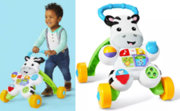 Fisher-Price Learn with Me Zebra Walker $12.49 (Reg. $24.99)