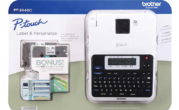 Brother P-Touch 2040 Label Maker w/ Bonus Tapes & Batteries $19.99 (Reg. $29.99) at BJ's & Costco