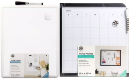 50% Off Dry Erase Boards Starting at $3.74 at Target