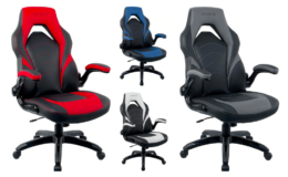 Staples Emerge Vortex Bonded Leather Gaming Chair $99.99 + $20 off $100 Coupon + Free Shipping at Staples! (reg. $199.99)