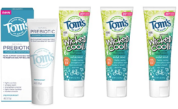 Up to 50% off Tom's of Maine Toothpaste, Soaps and Deodorants