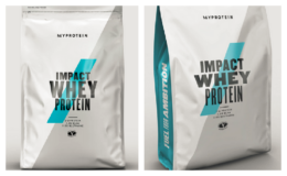 Impact Whey Protein 2.2 bags - 3 for $30 + Free Shipping from MyProtein (reg. $29.99 each)