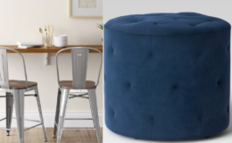 50% Off Select Furniture at Target | Stools, Chairs, Ottomans & More