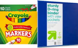 50% Off Select School & Office Supplies at Target | Tape, Post-Its, Craft Sets & More