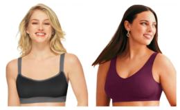 Select Hanes Bras 4 for $36 (reg. up to $16 each)