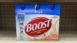 Boost Original Nutritional Drinks 6 Pack Only $1.59 at CVS! {Reg. $8.79!}