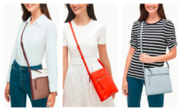 Kate Spade Jackson Top Zip Crossbody only $65 (Reg. $279) + Free Shipping!