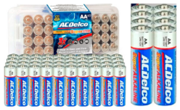 ACDelco 40pk AA Alkaline Batteries only $9.99 Shipped at WOOT! (reg. $19.99)