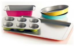 Gibson Home Color Splash Lyneham 5-pc. Carbon Steel Bakeware Set just $22.49 (Reg. $48) at JCPenney