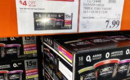 Costco:  Hot Deal on Oikos Triple Zero Yogurt - $4.00 off!
