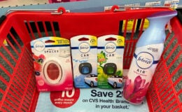 Select Febreze Air Fresheners only $1.49 at CVS!