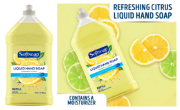 50% off Softsoap Liquid Hand Soap Refill, fresh citrus, 32 Fl Oz {Amazon}