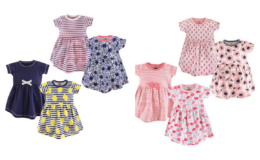 4-Pack Dresses: Baby & Toddler All Styles $19.99 at Zulily! That's $5 Each!