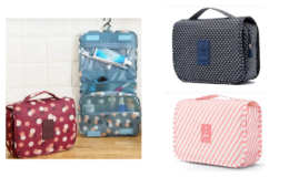 Hanging Cosmetic Bag $8.99 (Reg. $19.99) +  Free Shipping on Jane.com!