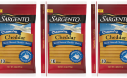 Save $1 on Sargento Creamery Shredded or Sliced Cheese | $0.95 at Walmart & More