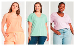 Universal Threads Women's T-Shirts as low as $3.40 with Target Circle Offer!