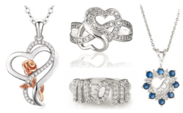 Up to 90% off Mother's Day Jewelry Gifts at WOOT!