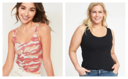 HOT! Old Navy $3 Women's & Girl's Tanks Today Only!
