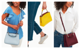 Kate Spade Aubrey Chain Top Handle Satchel just $95 Shipped (Reg $379) Today Only!