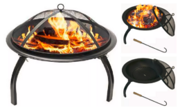 Westin Furniture Steel Wood Burning Fire Pit only $69 at Macy's (Reg. $176) + Free Shipping!