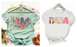 Mama + Nana + Mimi + Gigi Soft Print Tees only $16.99 (Reg. $34.99) + Free Shipping on Jane.com!