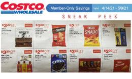 Costco Sneak Peek - Members Only Savings 4/14 - 5/9/21