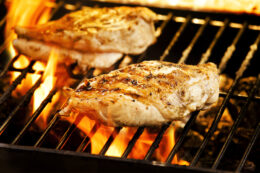 Grilled Chicken with Mustard Sauce Recipe