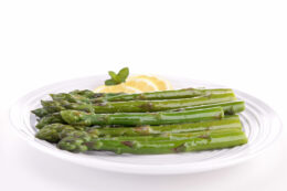 Broiled Asparagus with Lemon Recipe | Simple Side Dish