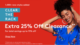 Last Day! Up to 90% Off Clear the Rack Clearance Sale + Extra 25% Off at Nordstrom Rack | Adidas, Ugg & more!