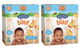 Stonyfield YoBaby Organic Yogurt  Multi-pack Pouches as Low as  $0.96  at ShopRite | Just Use Your Phone