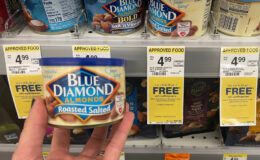 $2.50 Blue Diamond Almond Cans at Walgreens!