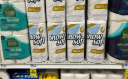 Snow Soft Paper Towel Rolls Just $0.83 at Rite Aid | No Coupons Needed