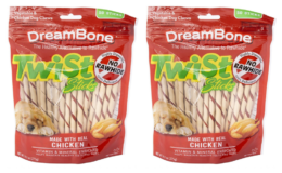 60% Off + $2.22 Off Coupon DreamBone Twist Sticks For Dogs 50 pack {Amazon}