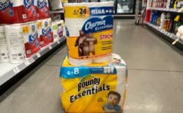 Charmin Essentials Bath Tissue & Bounty Essentials Paper Towels Just $2.95 at Walgreens!