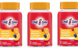 Save Over 50% on One A Day Adult Multivitamin + Immunity Gummies at Target!
