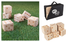 Wakeman Giant Wooden Yard Dice Outdoor Lawn Game only $19.99 (Reg. $39.99) at Best Buy