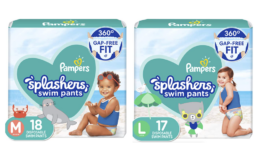 $3 Off Pampers Splashers Swim Diapers Size S-L {Amazon}