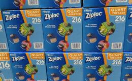 Costco:  Hot Deal on Ziploc Quart Freezer Bags - $3.00 off!