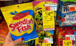 Swedish Fish 8 oz. Bags Only $1.25 at CVS! {Ibotta Rebate}